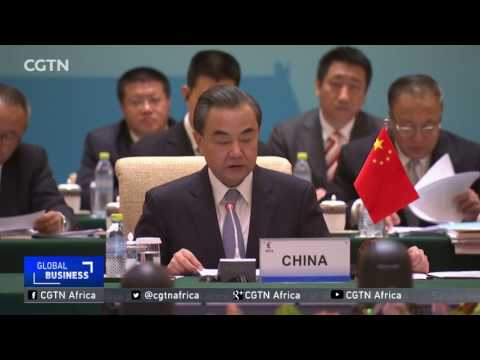 Chinese President Xi Jinping meets with BRICS delegates