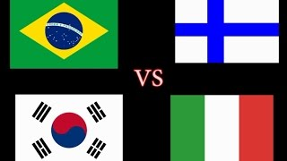MEDLEY OF YTPMV (BRAZIL VS KOREA VS ITALY VS FINLAND)
