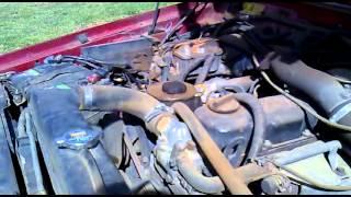 jeep Cherokee TD 27 Nissan Diesel engine
