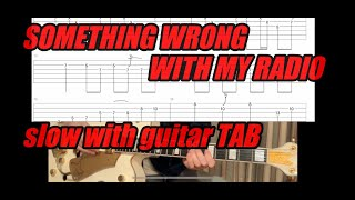 SOMETHING WRONG WITH MY RADIO/Stray cats Guitar TAB