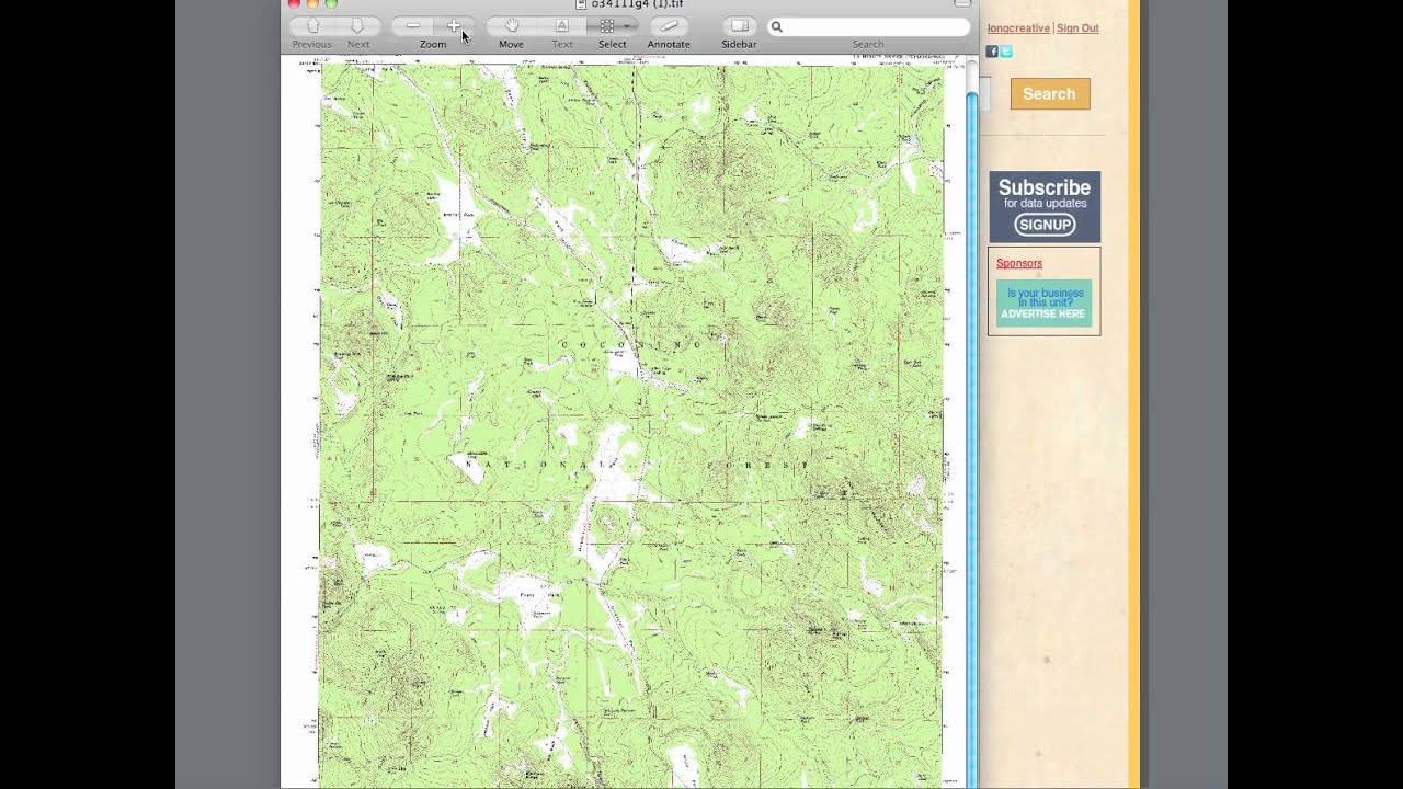 How To Download Usgs Topo Maps With Huntersdb Com