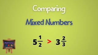 How To Compare Miאed Numbers | Comparing Mixed Fractions | Math Help Videos