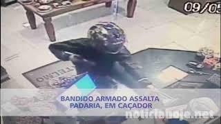 Padaria Santelmo é assaltada, em Caçador