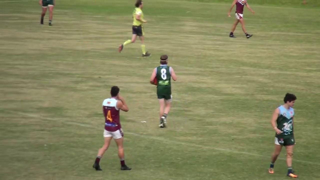 Rd 4 - Geelong AM Goals vs Newcomb
