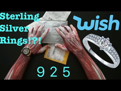 Wish Silver Rings ! True Silver?