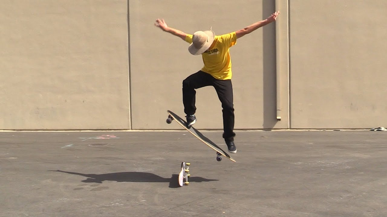 How To Ollie On A Longboard Skateboard The Easiest Way Tutorial