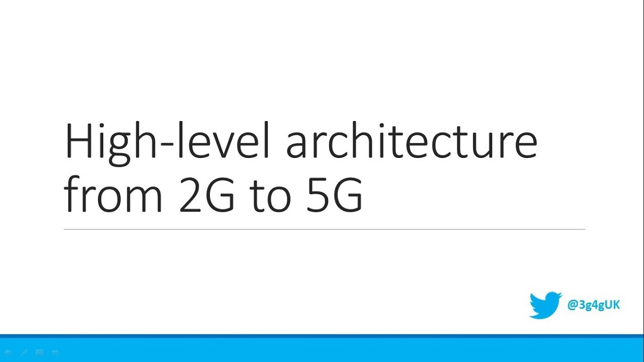 Intermediate high level architecture of mobile cellular for Architecture 2g 3g 4g