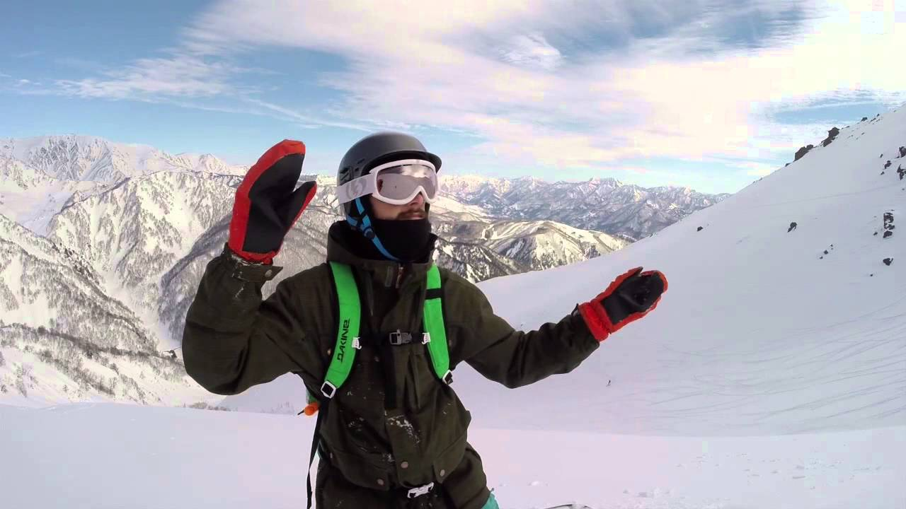 a56284adca3092 Happo One North Face Snowboarding (HD) - YouTube