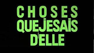 2 ou 3 choses que je sais d'elle (1967) title sequence