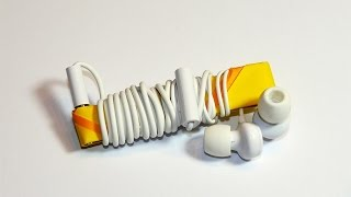 Origami Headphone Cable Organizer (deutsch, english)
