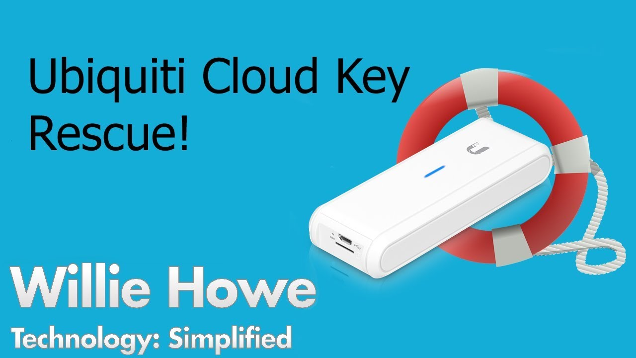 Ubiquiti Cloud Key Rescue