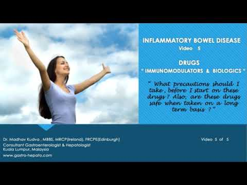 INFLAMMATORY BOWEL DISEASE - IMMUNOMODULATORS AND BIOLOGICS