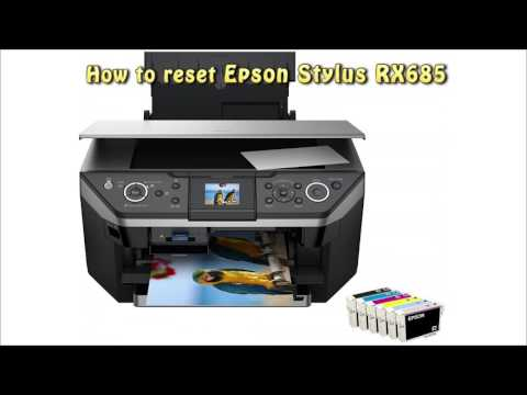 Reset Epson RX685 Waste Ink Pad Counter