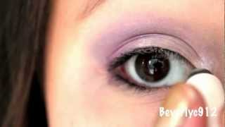Light Purple Smokey Eye Thumbnail