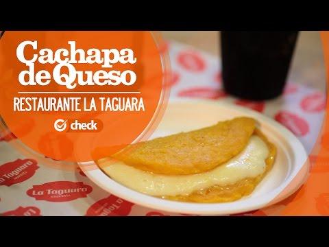 Restaurante La Taguara Barcelona | Cachapa de Queso | Check Guide
