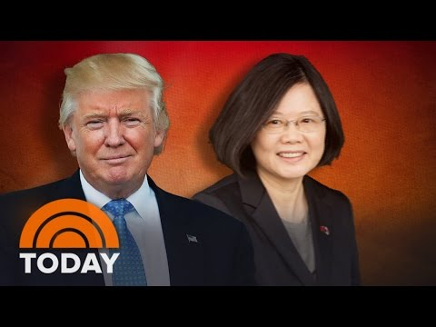 Donald Trump Defends His Call With Taiwan's President: She 'Called Me'   TODAY