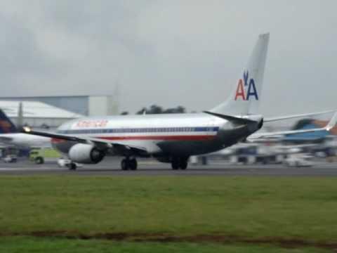 American Airlines Boeing 737... MROC - Costa Rica