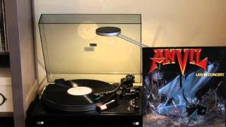 ANVIL  - Past and Present Live in Concert LP - vinyl