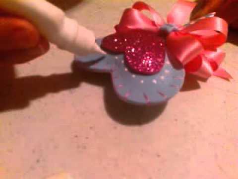 Pluma decorada parte 3 youtube for Plumas para decorar