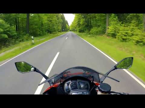 Kawasaki Z1000SX - Tour to Cuxhaven on my (GoPro Hero 5 Black)