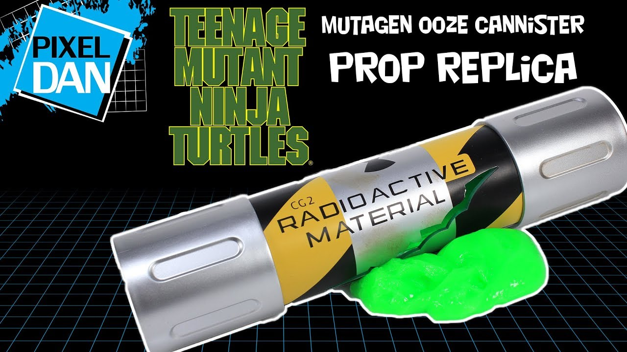 1 X Turtles Teenage Mutant Ninja Turtles Mutagen Ooze with Mini Turtle Figure