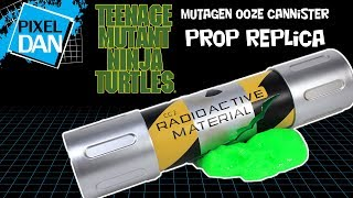 TMNT Mutagen Ooze Canister Prop Replica Teenage Mutant Ninja Turtles NECA Toys Video REview