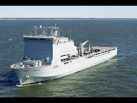 USNI News Video: U.S. Embarks Mine Hunting Team On U.K. Ship
