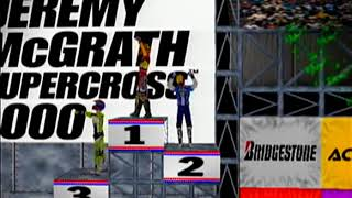 Jeremy McGrath Supercross 2000 Dreamcast Intro + Gameplay