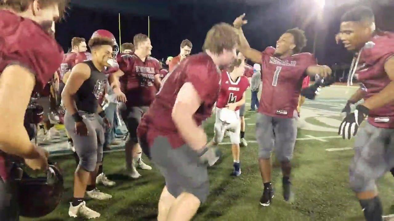 Watch: Thomas Heyward celebrates 2020 SCISA football championship