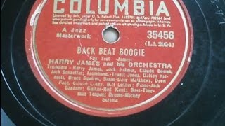 BACK BEAT BOOGIE -Harry James & Orchestra