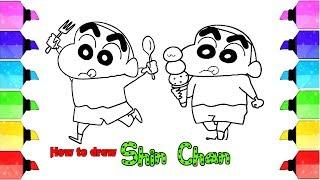 How to Draw Shin-Chan | Crayon Shin-Chan | Drawing Extra