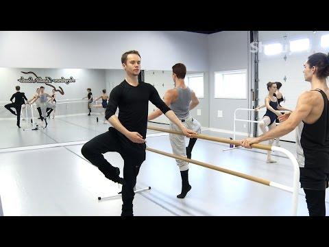 Leonid Sarafanov Ballet Class