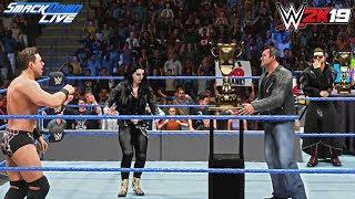 WWE 2K19: BEST TEAM IN THE WORLD! (Shane McMahon & The Miz) ft. BITW Trophy & Paige -Smackdown Live