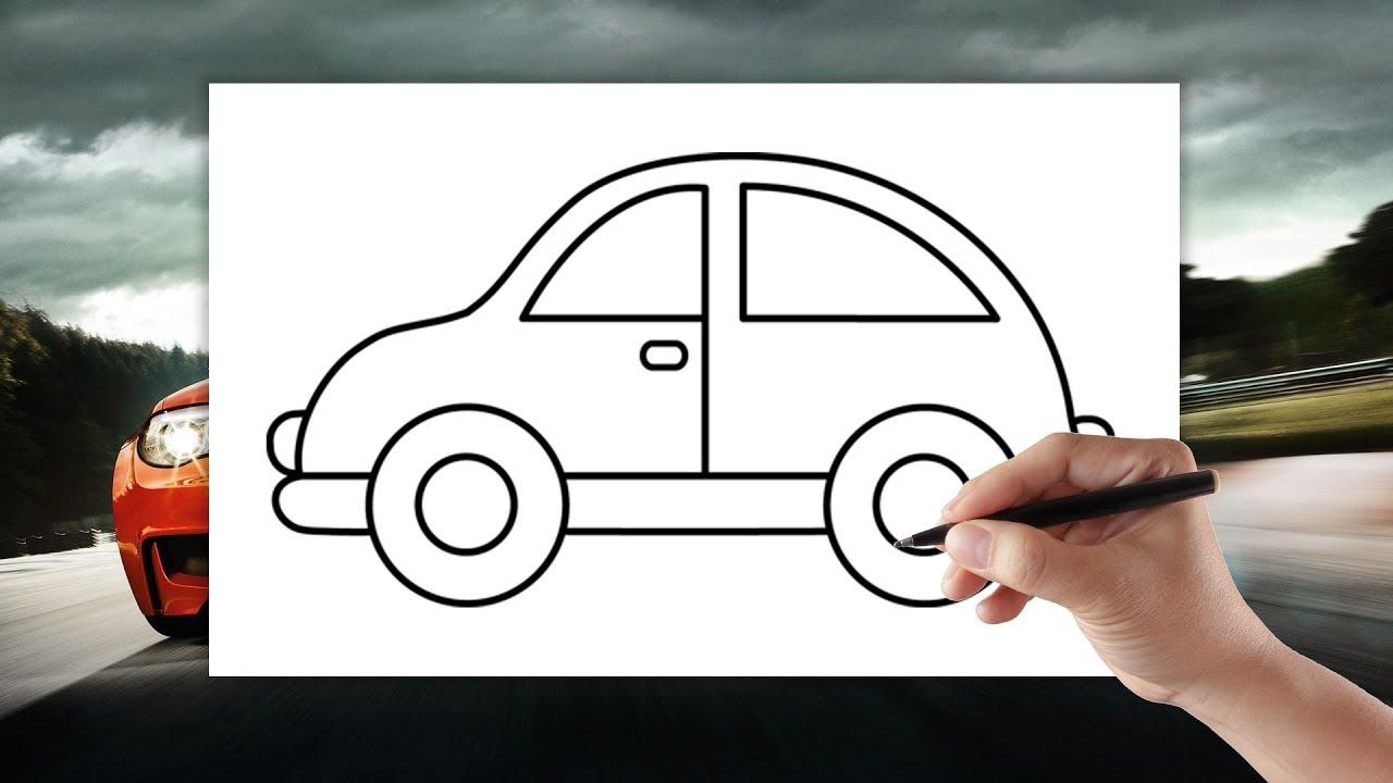 Samochod Jak Narysowac Auto Rysowanie Dla Dzieci Krok Po Kroku Youtube