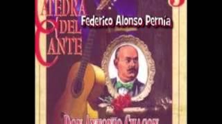 DON ANTONIO CHACON NOS HACE UN CANTE POR GRANAINA Y MEDIA GRANAINA
