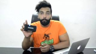Philips BT64B Portable Bluetooth Speakers Unboxing & Review in Hindi