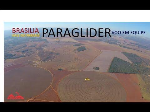 Parapente em Brasilia - Voo em equipe - Vale do Paranã