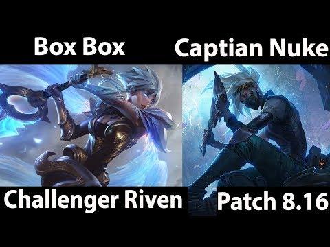 Box Box   Riven vs Akali  Captain Nuke  Top - Box Box Riven Solo queue