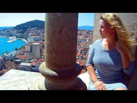 A Tour of Beautiful SPLIT, CROATIA on the Adriatic Sea