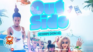 Scorpi Don 1G - Out Side [Audio Visualizer]