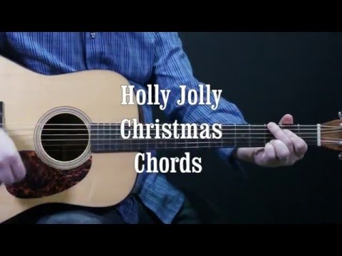 How to play Holly Jolly Christmas on the guitar