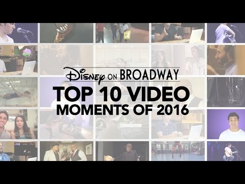Top 10 Videos of 2016: Disney on Broadway