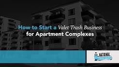 How to Start a Valet Trash Business for Apartment Complexes