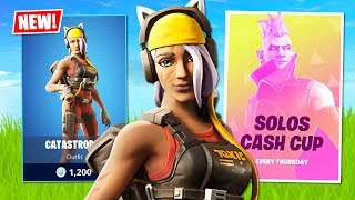 New Weekly Challenge Skin! Solo Cash Cup Tournament! (Fortnite Battle Royale)