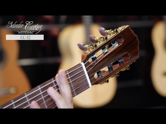 Salvador Cortez CC-32   Chitarra classica   Guitar test by Gabriele Curciotti