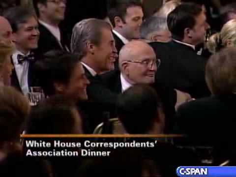 Pres. Bush at 94th Annual White House Correspondents' Dinner