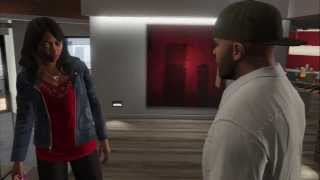 "Grand Theft Auto V - Lamar Down: Tanisha Marks Visits Franklin Clinton ""You Ain"