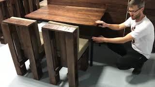 Мебель для бара из паллет в Москве от мастерской KingPallet | Лофт столы, диваны и стулья из паллет(, 2017-11-29T01:02:50.000Z)