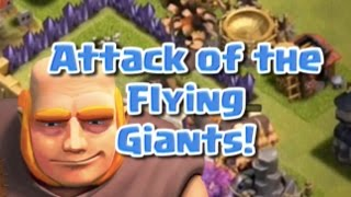 Clash Of Clans  | The FLYING Giants | Clash of Clans Lonely troop series