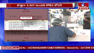 3307 Cases Registered In Telangana | TS Cases Updates | hmtv News